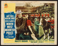 "Movie Posters:Adventure, North West Mounted Police (Paramount, R-1945). Lobby Card (11"" X14""). Adventure.. ..."