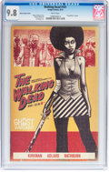 """Modern Age (1980-Present):Horror, Walking Dead #101 """"Foxy Brown"""" Ghost Variant (Image, 2012) CGCNM/MT 9.8 White pages...."""