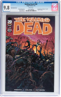 Walking Dead #100 Bryan Hitch Variant Cover (Image, 2012) CGC NM/MT 9.8 White pages
