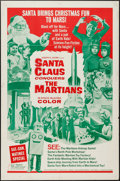 """Movie Posters:Fantasy, Santa Claus Conquers the Martians (Embassy, 1964). One Sheet (27"""" X41"""") & Lobby Card Set of 4 (11"""" X 14""""). Fantasy.. ... (Total: 5Item)"""