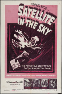 """Satellite in the Sky (Warner Brothers, 1956). One Sheet (27"""" X 41"""") & Lobby Cards (4) (11"""" X 14""""..."""