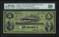 Canadian Currency: , Montreal, PQ- Merchants Bank of Canada $5 Feb. 1, 1916 Ch. #460-18-02. ...