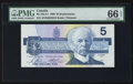 Canadian Currency: , BC-56cA-i $5 1986 Replacement Note. ...