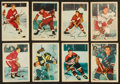 Hockey Cards:Sets, 1953 Parkhurst Hockey Partial Set (48/100) With Howe and Sawchuk. ...