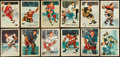 Hockey Cards:Lots, 1953 Parkhurst Hockey Collection (31) With Howe. ...