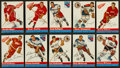 Hockey Cards:Lots, 1954 Topps Hockey Collection (27) With Howe. ...