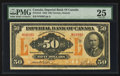 Canadian Currency: , Toronto, ON- Imperial Bank of Canada $50 Nov. 1, 1923 Ch. #375-18-16. ...