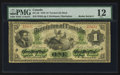 "Canadian Currency: , DC-2b $1 1870 with ""Radar"" Serial Number 23432.. ..."