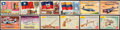 Non-Sport Cards:Sets, 1950's Topps & Parkhurst Non-Sports Sets Trio (3). ...