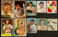 Baseball Cards:Lots, 1948 - 1970 Red Schoendienst Bowman and Topps Collection (22). ...