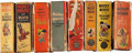 Big Little Book:Miscellaneous, Big Little Book Disney Related Group (Whitman, 1930s) Condition:Average GD.... (Total: 8 Comic Books)