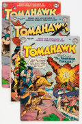 Golden Age (1938-1955):Adventure, Tomahawk Group (DC, 1952-57) Condition: Average VG+.... (Total: 6Comic Books)