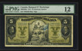 Canadian Currency: , Montreal, PQ- Banque D'Hochelaga $5 Jan. 2,1917 Ch. # 360-24-02a....