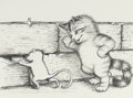 Mainstream Illustration, GARTH WILLIAMS (American, 1912-1996). Harry Kitten and TuckerMouse, set of two: page 23 and 44 illustrations, 1986. Pen...(Total: 2 Items)