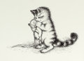 Mainstream Illustration, GARTH WILLIAMS (American, 1912-1996). Harry Kitten and TuckerMouse, page 49 Illustration, 1986. Pen on cardstock. 17 x ...