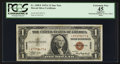 Small Size:World War II Emergency Notes, Fr. 2300* $1 1935A Hawaii Silver Certificate. PCGS Apparent Extremely Fine 45.. ...