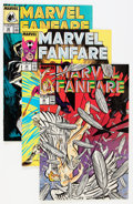 Modern Age (1980-Present):Superhero, Marvel/DC Modern Age Long Box Group (Marvel/DC, 1970s-90s)Condition: Average NM....