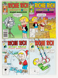Modern Age (1980-Present):Humor, Richie Rich and Others Digest-Format Box Lot (Harvey, 1980s-90s) Condition: Average NM....