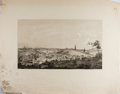 Books:Prints & Leaves, [California, Gold Rush]. Lithographic Print Entitled,Placerville. Measures approx. 22.25 x 28.5 inches. Wornwi...
