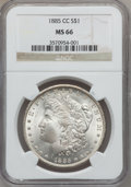 Morgan Dollars, 1885-CC $1 MS66 NGC....
