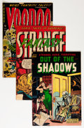 Golden Age (1938-1955):Horror, Golden Age Horror Comics Group (Various Publishers, 1950s)Condition: Average GD+.... (Total: 4 Comic Books)