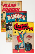 Golden Age (1938-1955):Miscellaneous, Comic Books - Assorted Golden and Silver Age Superhero Comics Group (Various Publishers, 1940s-'60s) Condition: Average GD+.... (Total: 11 Comic Books)