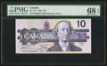 Canadian Currency: , BC-57a $10 1989. ...