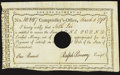 Colonial Notes:Connecticut, Connecticut Interest Certificate £1 Mar. 5, 1791 Anderson CT-52Extremely Fine-About Uncirculated, HOC.. ...
