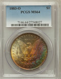 Morgan Dollars: , 1883-O $1 MS64 PCGS. PCGS Population (35723/8019). NGC Census:(43418/10688). Mintage: 8,725,000. Numismedia Wsl. Price for...