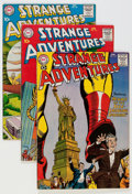 Silver Age (1956-1969):Science Fiction, Strange Adventures Group (DC, 1958-61) Condition: Average FN.... (Total: 10 Comic Books)