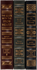 Books:Science Fiction & Fantasy, Harry Turtledove. Group of Three LIMITED/SIGNED First Edition Books Published by Easton Press. Each volume is numbered. Publ... (Total: 3 Items)
