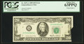 Error Notes:Foldovers, Fr. 2075-A $20 1985 Federal Reserve Note. PCGS Choice New 63PPQ.....