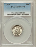 Mercury Dimes: , 1919 10C MS63 Full Bands PCGS. PCGS Population (122/412). NGCCensus: (48/182). Mintage: 35,740,000. Numismedia Wsl. Price ...