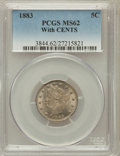 Liberty Nickels: , 1883 5C With Cents MS62 PCGS. PCGS Population (117/819). NGCCensus: (100/653). Mintage: 16,032,983. Numismedia Wsl. Price ...