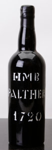 Port/Madeira/Misc Dessert, Madeira 1720 . Pather, H.M. Borges . Bottle (1). ... (Total: 1 Btl. )