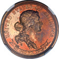 Patterns, 1869 25C Standard Silver Quarter Dollar, Judd-736, Pollock-817,R.7, PR65 Red NGC....