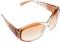Luxury Accessories:Accessories, Oliver Peoples Acetate Sunglasses with Rhinestones. ...