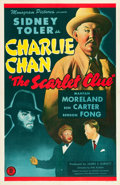 "Movie Posters:Mystery, The Scarlet Clue (Monogram, 1945). One Sheet (27"" X 41"").. ..."