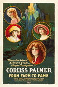 "Movie Posters:Drama, From Farm to Fame (United Artists, 1922). One Sheet (27"" X 41"")....."