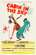 "Movie Posters:Musical, Cabin in the Sky (MGM, 1943). One Sheet (27"" X 41"") Style C.. ..."