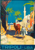 """Movie Posters:Miscellaneous, Tripoli, Libya Travel Poster (ENIT, Late 1920s-Early 1930s). Poster(27.25"""" X 39.5"""").. ..."""