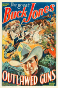 "Movie Posters:Western, Outlawed Guns (Universal, 1935). One Sheet (27"" X 41"").. ..."
