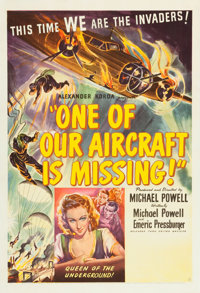 "One of Our Aircraft Is Missing (United Artists, 1942). One Sheet (27"" X 41"")"