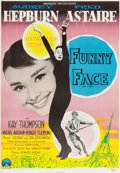 "Movie Posters:Romance, Funny Face (Paramount, 1957). Swedish One Sheet (27.25"" X 39.25"").Romance.. ..."