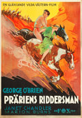 "Movie Posters:Western, The Golden West (Fox, 1932). Swedish One Sheet (27.5"" X 39.5"").. ..."