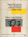 "Movie Posters:Romance, Goodbye Again (United Artists, 1961). French Grande (47"" X 63""). Romance.. ..."