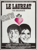 """Movie Posters:Comedy, The Graduate (United Artists, 1968). French Grande (47"""" X 63""""). Comedy.. ..."""