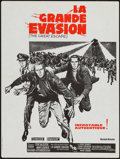 "Movie Posters:War, The Great Escape (United Artists, R-late 1960s). French Petite(15.75"" X 21""). War.. ..."