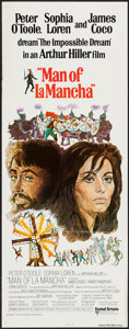 "Movie Posters:Musical, Man of La Mancha (United Artists, 1972). Insert (14"" X 36""). Musical.. ..."