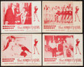"""Movie Posters:Sexploitation, That Naughty Girl (Films Around the World, 1956). Lobby Card Set of4 (11"""" X 14""""). Sexploitation.. ... (Total: 4 Items)"""
